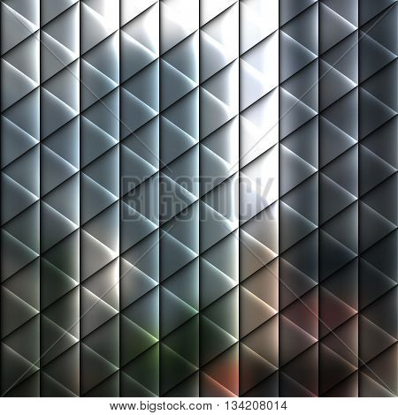 Blur lights city background with lines and geometric elements