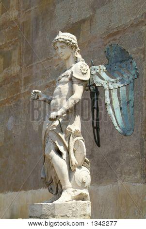 Sculpture Of Icarus