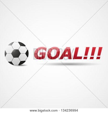Resultative Shot Into Football Goal | Soccer