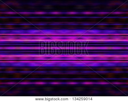 Glowing purple light streaks on black background