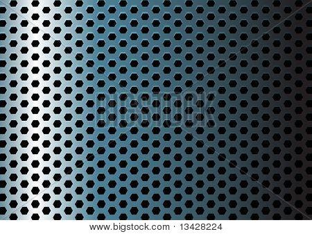 Metall Textur / Muster mit Löchern