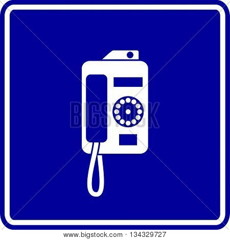 payphone sign