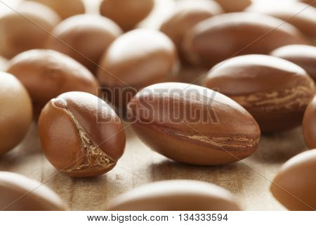 Traditional Moroccan argan nuts