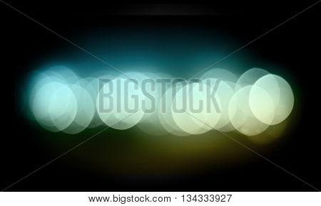 bokeh dark color line horizontal glow effect