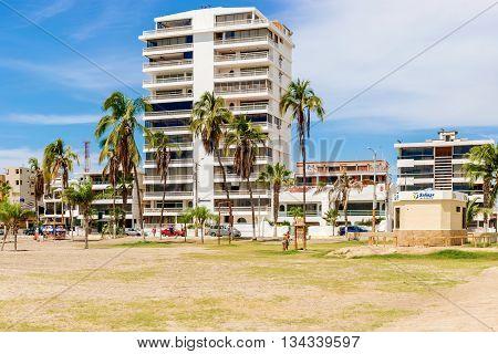 Playa De San Lorenzo In Salinas, Ecuador