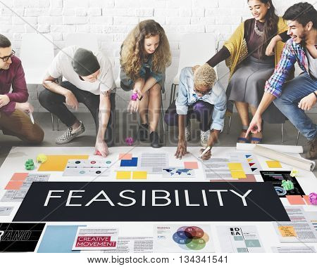 Feasibility Reasonable Potential Useful Concept poster