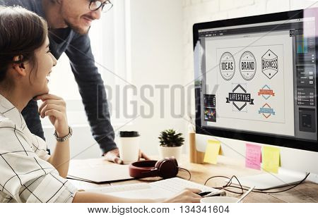 Design Working Using Computer Discussing Concept