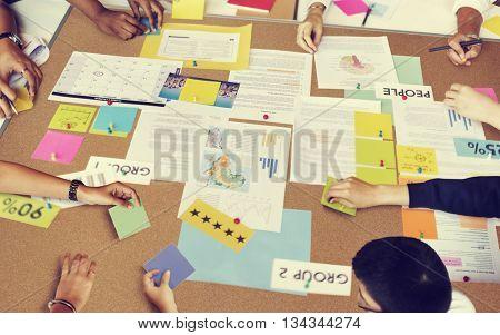 Partner Business Meeting Concept
