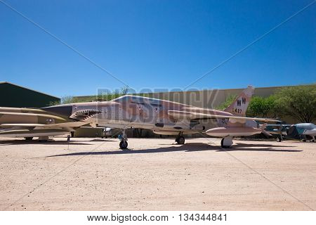 USA. ARIZONA. JUNE - 13, 2016: Pima Air & Space Museum