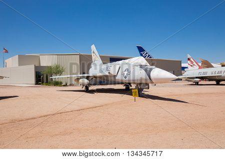 USA. ARIZONA. JUNE - 13, 2016: Pima Air & Space Museum