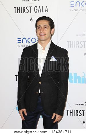 LOS ANGELES - JUN 13:  Wesam Keesh at the 7th Annual Thirst Gala at the Beverly Hilton Hotel on June 13, 2016 in Beverly Hills, CA