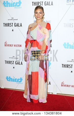 LOS ANGELES - JUN 13:  Allie Gonino at the 7th Annual Thirst Gala at the Beverly Hilton Hotel on June 13, 2016 in Beverly Hills, CA