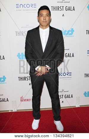 LOS ANGELES - JUN 13:  Evan Fong at the 7th Annual Thirst Gala at the Beverly Hilton Hotel on June 13, 2016 in Beverly Hills, CA