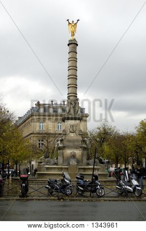 The Column, Dating From 1808, In Remembrance Of Napoleon I'S Victories
