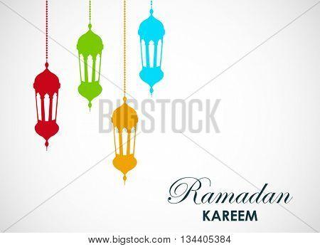 Ramadan Kareem .Vector