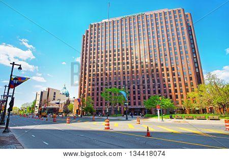 Benjamin Franklin Parkway In The City Center In Philadelphia