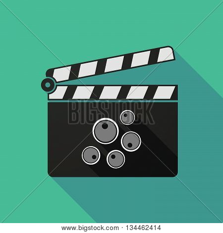Long Shadow Clapperboard With Oocytes