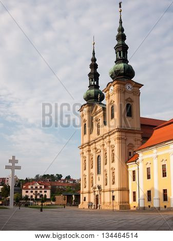 Place of pilgrimage Basilica of Saint Cyril and Methodius in Moravia