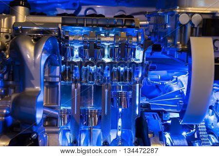 Hybrid Car Engine Part