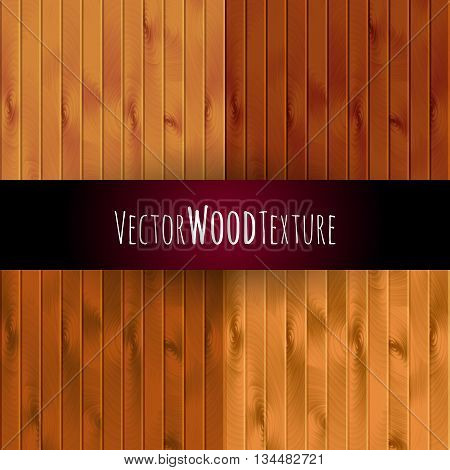 vector wood texture background. wall floor or illustration