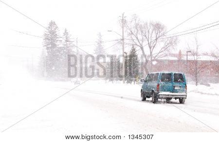 Snowy Van