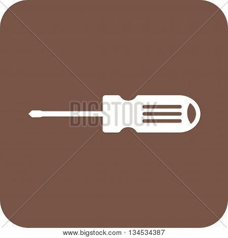 Screw, driver, tools icon vector image. Can also be used for car servicing. Suitable for use on web apps, mobile apps and print media.