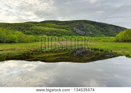 Lake In Acadia National Park