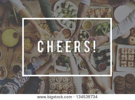 Cheers Toast Celebration Party Festive Occasional Event Concept