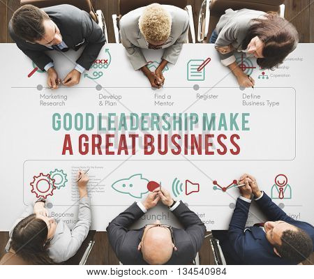 Leadership Lead Leader Authority Boss Manager Concept