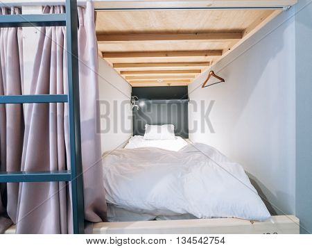 Capsule bedroom bed in box for hostel