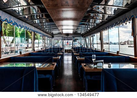 Restaraunt Ship Empty Interior
