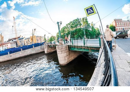 Petersburg Artist On The River
