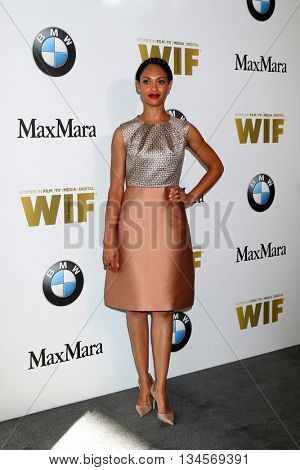 LOS ANGELES - JUN 15:  Cynthia Addai-Robinson at the Women In Film 2016 Crystal and Lucy Awards at the Beverly Hilton Hotel on June 15, 2016 in Beverly Hills, CA