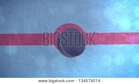 3D Hockey Puck