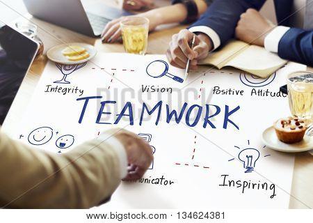 Teamwork Alliance Collaboration Company Unity Concept