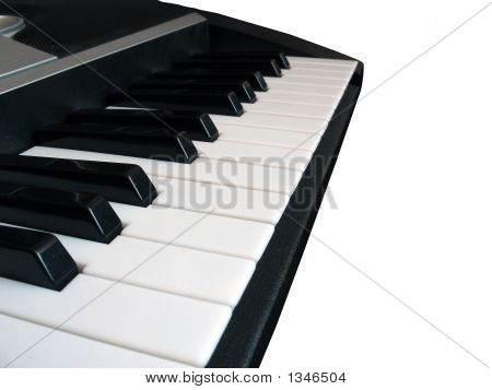 Piano Music Isolated