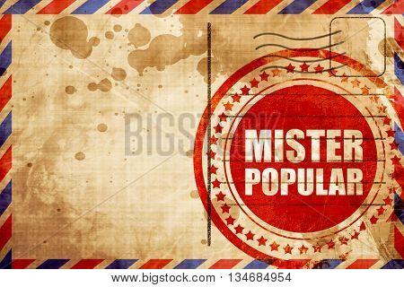 mister popular