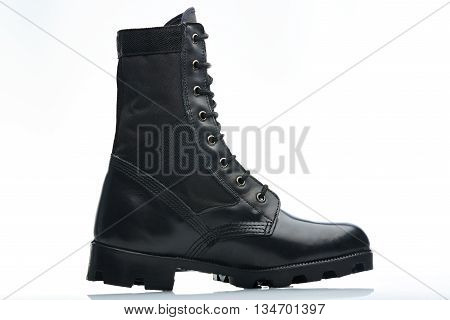 Tall Police Boot