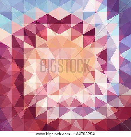 abstract brown background,  square simple vector illustration