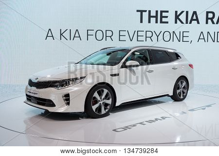 2016 Kia Optima Sportswagon