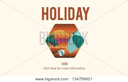 Holiday Adventure Summer Travel Concept
