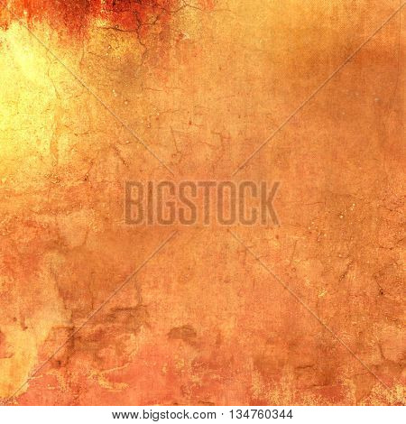 Grunge orange background - abstract terracotta texture