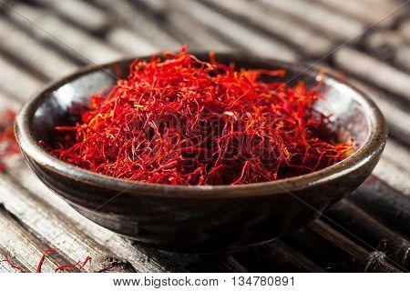 Raw Organic Red Saffron Spice