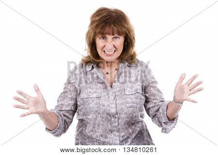 Middle Aged Casual Woman