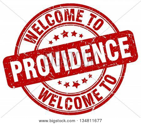 welcome to Providence stamp. welcome to Providence.