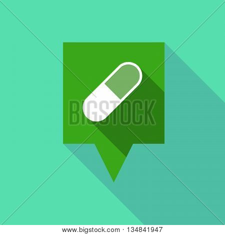 Long Tooltip Icon With A Pill
