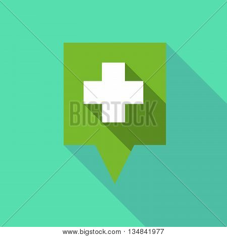 Long Tooltip Icon With A Pharmacy Sign