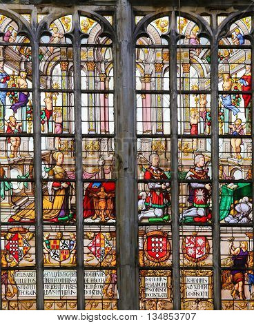 Stained Glass - Elisabeth Of Culemborg