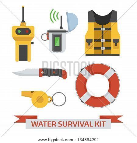 Water Emergency Surival Kit