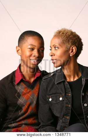 Mother And Teenage Boy